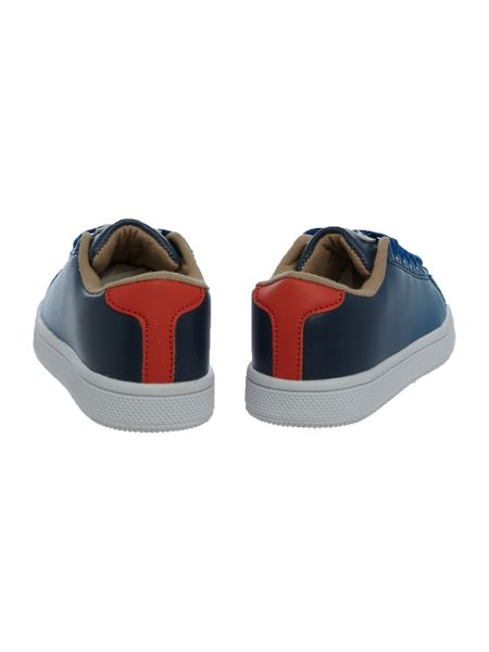 Little Marc Jacobs Boys Leather shading sneakers