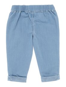Carrement Beau Baby girls Denim trousers