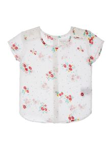 Carrement Beau Baby girls All-over printed blouse