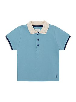 Carrement Beau Baby boys Short sleeved polo shirt