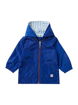 Baby boys Reversible coated windbreaker