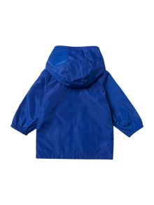 Carrement Beau Baby boys Reversible coated windbreaker