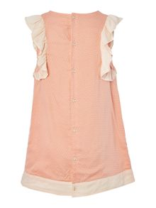 Carrement Beau Girls Dress with cut-outs