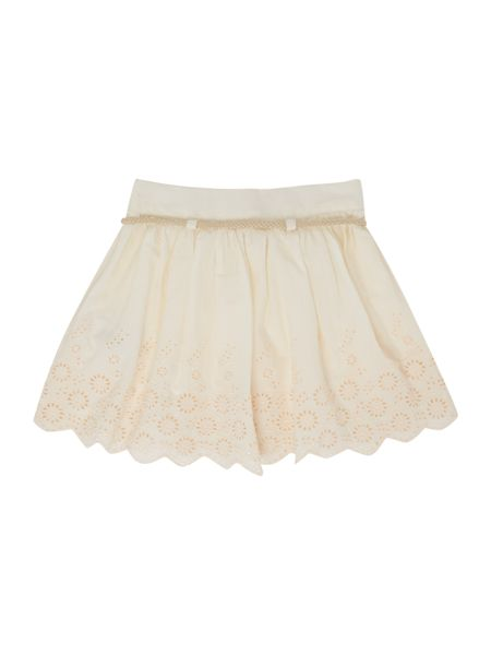 Carrement Beau Girls Embroidered skirt