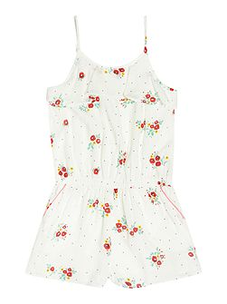 Girls Printed playsuit