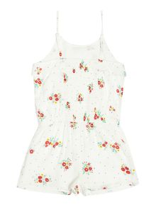 Carrement Beau Girls Printed playsuit