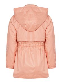 Girls Coated windbreaker jacket
