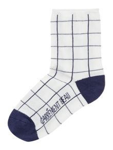 Carrement Beau Boys Checked socks