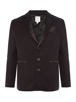 Boys Twill and satin suit jacket