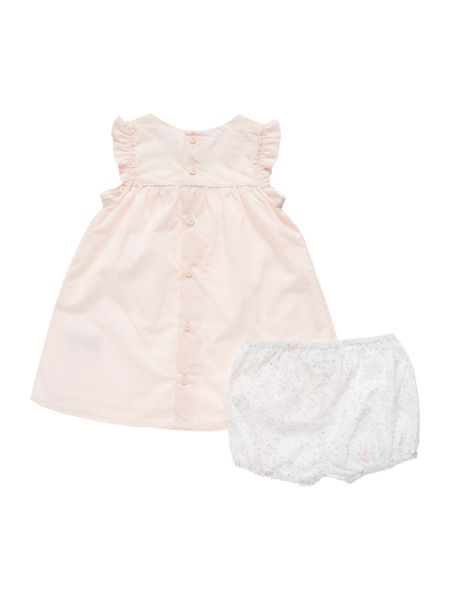 Carrement Beau Baby girls dress and bloomers set