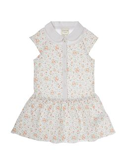 Baby girls flower print dress