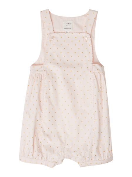 Carrement Beau Baby girls printed dungarees