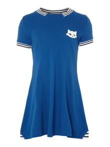 Karl Lagerfeld Girls Cotton pique dress