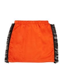 Karl Lagerfeld Girls Skirt with fringes