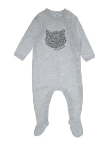 Karl Lagerfeld Babies Fleece pyjamas