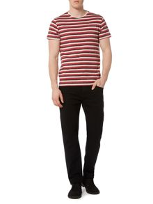 Linea Mathison Three Colour Stripe T-Shirt