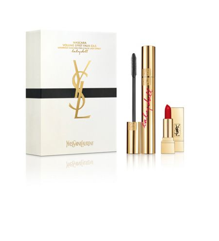 Yves Saint Laurent Babydoll Mascara & Mini Rouge Pur Couture Set