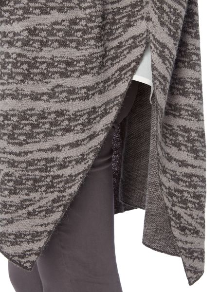 Gray & Willow Marble jacquard poncho