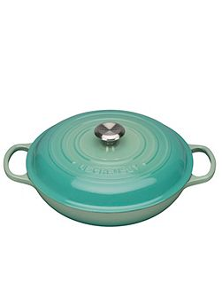 Signature Shallow Casserole 26cm Cool Mint