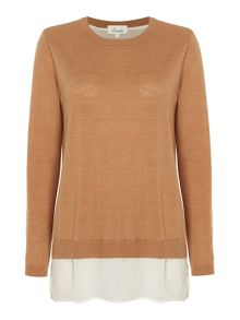 Linea Merino Split Back Jumper