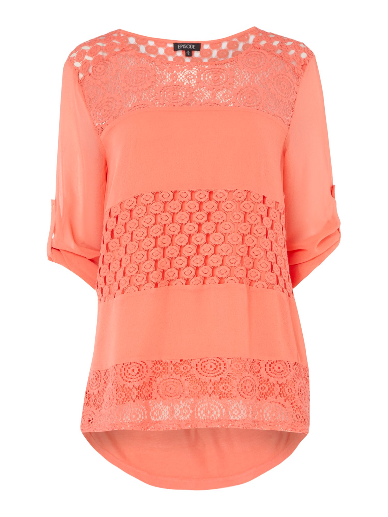Episode Episode Lace panel top, Rose