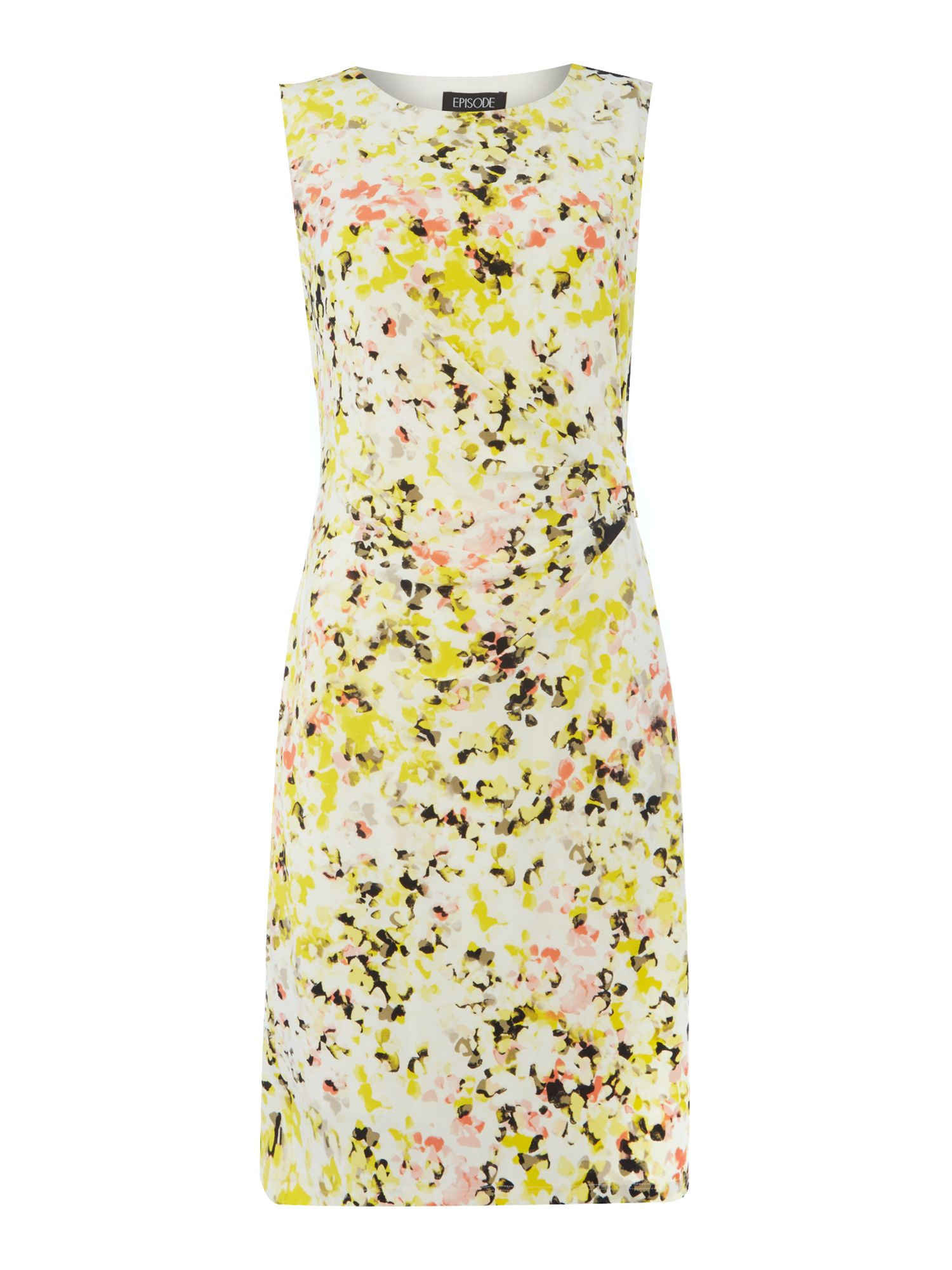 Episode Episode Floral print shift dress, Multi-Coloured