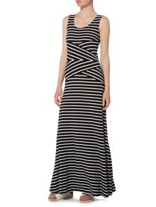 Episode Stripe maxi dress