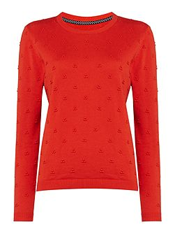 Francine French Knot Jumper