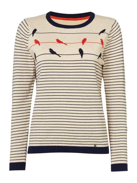 Dickins & Jones Isabelle Intarsia Bird Jumper