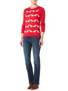 Dickins & Jones Scotty Dog Intarsia Knit Jumper