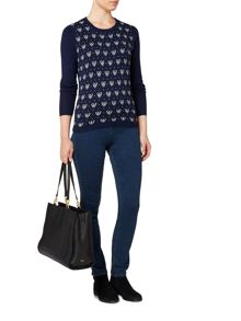 Dickins & Jones Bella Badger Intarsia Jumper