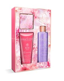 Grace Cole Floral Blissful Treats Gift Set