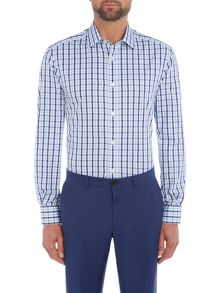 Howick Tailored Roxbury large check shirt