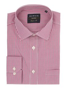 Howick Tailored Albany Gingham Shirt
