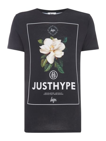Hype Regular fit english garden print t shirt