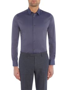 Kenneth Cole Benton slim fit twill shirt