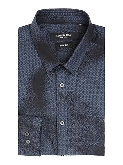 Austin slim fit jaquard shirt