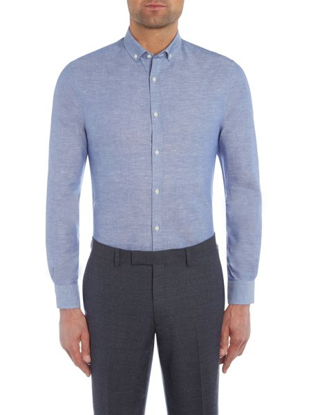 Kenneth Cole Marc textured shirt with cutaway collar