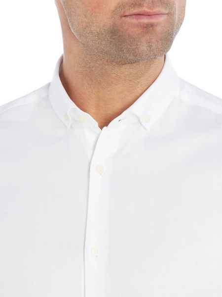 Kenneth Cole Lacey slim fit textured shirt