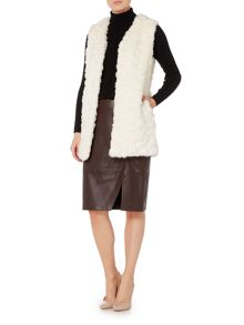 Linea Limited faux fur gilet