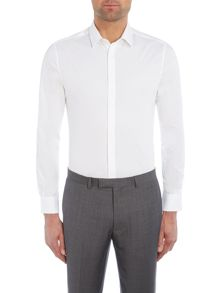 Kenneth Cole Ethan stretch shirt with conealed placket