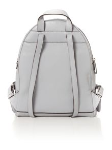 Michael Kors Rhea zip grey backpack