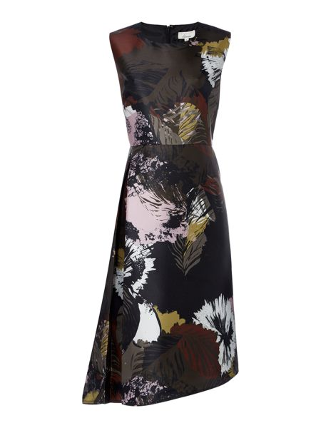 Linea Bene floral asymmetric dress
