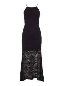 Bardot Sleeveless Lace Maxi Dress