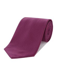 Hugo Boss Crosshatch Texture Tie