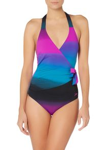Speedo Sculpture simply glow swimsuit