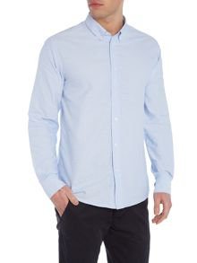 Soulland Goldsmith regular fit dobby spot shirt