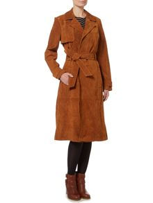 Therapy Sian Suede Trench Coat