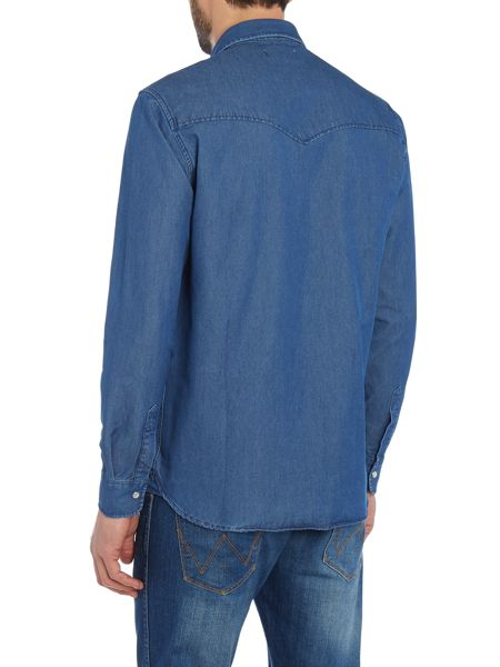 Soulland Marius regular fit denim shirt