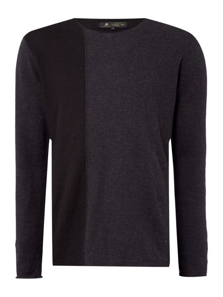 Label Lab Heddon Seam Block Knitwear